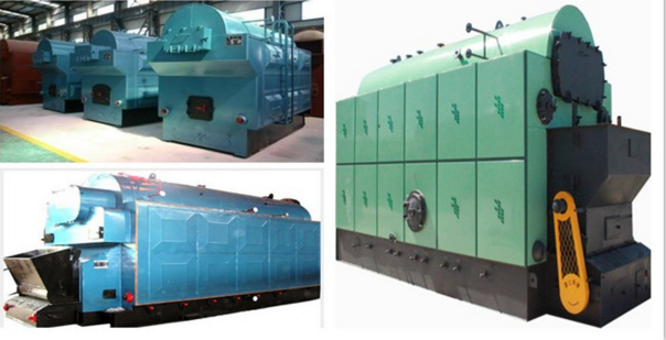 High Thermal Efficiency Industrial Biomass Fuel Boiler With Automatic Fuel Feeding