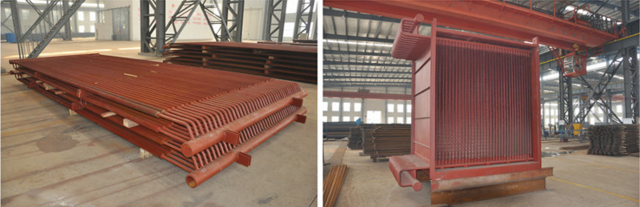 Anti-Wear high pressure Performance Heat Exchanger Superheater and Reheater For For industry boiler ISO9001