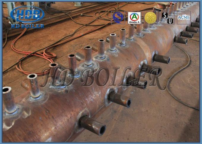 Carbon Steel High Efficient High Temperature Resistant Header For CFB Boiler