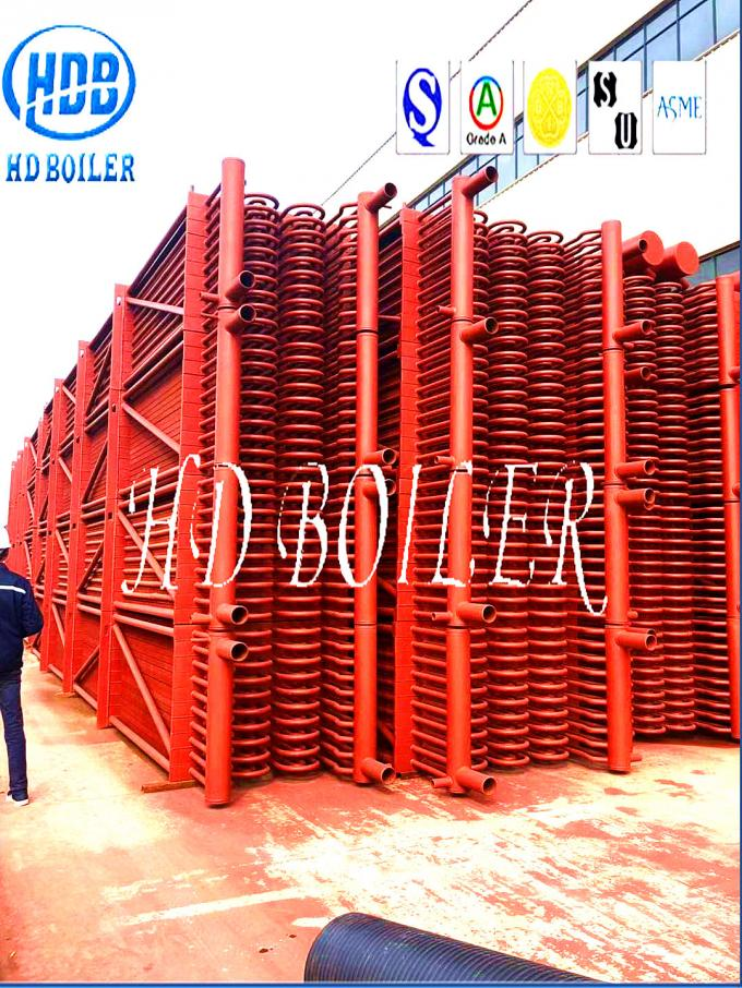 Red Carbon Steel Superheater In Boiler Energy Saving For Power Station