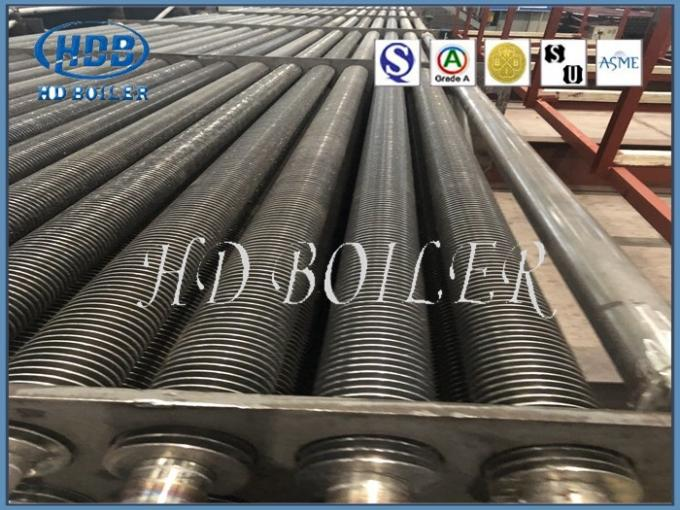 Carbon Steel  Fin Tube Heat Exchanger Boiler  H  Fin Tube Power Station