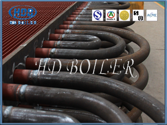 Carbon Steel Or Stainless Steel Economizer In Power Plant , Economizer Tubes