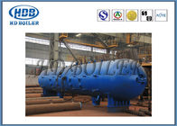 Steel Power Plant CFB Boiler Steam Drum / High Pressure High Temperature Drum