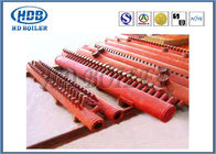 Red Effective Energy Saving Boiler Manifold Headers For Industry , Long Life