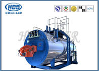 High Thermal Efficiency Steam Hot Water Boiler Generators With Oil / Gas Fired