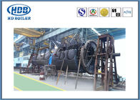 Automatic Large Scale Horizontal Industrial Cyclone Dust Separator High Efficiency