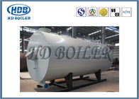 Horizontal Industrial Thermal Oil Boiler , Oil Fired Steam Boiler Low Pressure