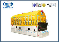 Double Chain Coal Fired Hot Water Boiler , High Efficiency Steam Boiler SZL Type