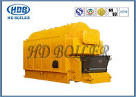 Industrial Coal / Wood Fired Biomass Fuel Boiler , Wood Chip Steam Boiler