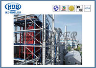 Industrial Self Supporting Corner Tube Boiler With Natural Circulation Cooling