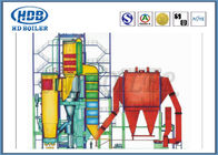 China Thermal Efficiency CFB Circulating Fluidized Bed Boilers , Hot Water Boiler Coal Biomass Fired factory