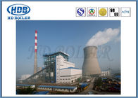 Thermal Efficiency CFB Circulating Fluidized Bed Boilers , Hot Water Boiler Coal Biomass Fired