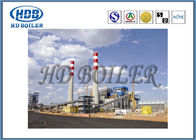 Fuel Fired Circulating Fluidized Bed Boiler , Steam Turbine Power Station Boiler