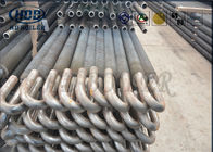 Spiral Type Fin Welded Heat Exchanger Tubes For Boiler Economizer ASME Standard