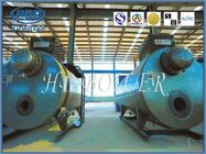 Produce Superheatered And Saturated Steam Boiler Drum 100mm Thickness ASME Standard