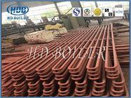 Corrosion Boiler Economizer With Pipe Clamps , Carbon Steel Economizer In Boiler