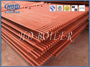 Steel Water Wall Panels Membrane Type For CFB With Natural Circulation