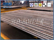 High Efficient Carbon Steel Boiler Membrane Wall Tube Fire / Water Tube Structure