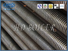 CS / ND / Stainless Steel Spiral Finned Tube H - Type Fin Tube For Boiler Economizer