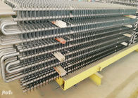 Ss Boiler Fin Tube Spiral , Fin And Tube Heat Exchanger Energy Saving