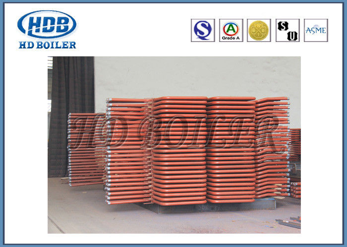 Steel Hot Water Industrial Boiler APH Air Preheater Tubes High Corrosion Resistance