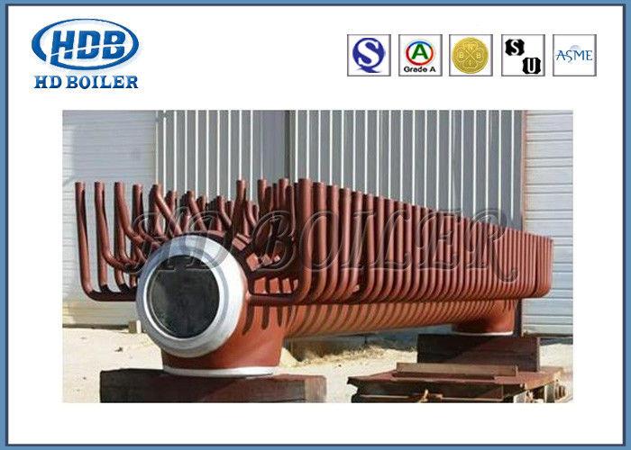 Steel Electrical Water Boiler Header Manifolds , Industrial Steam ...