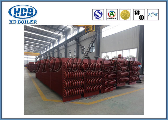 Seamless Pipes Boiler Economizer / Economiser In Thermal Power Plant ...