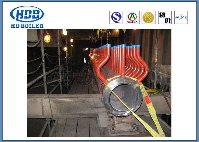 Power Station Boiler Manifold Headers , Steam Boiler Header Piping ...