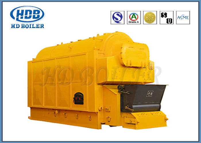 Automatic Industrial Steam Hot Water Boiler Coal Fired Horizontal Single Drum