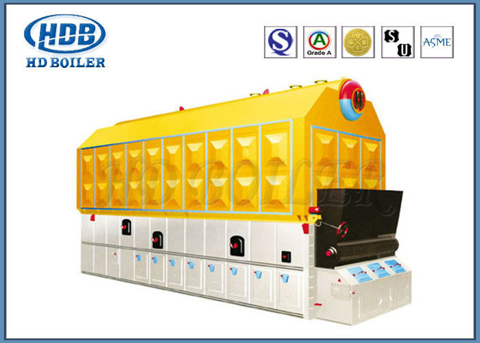 Coal Fired Steam Hot Water Boiler Automatic Horizontal High Efficiency