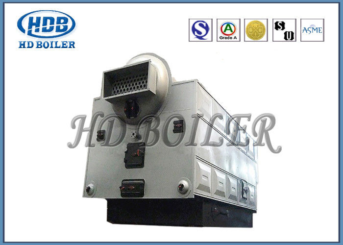 Horizontal Biomass Fired Industrial Steam Boiler , Large Biomass ...
