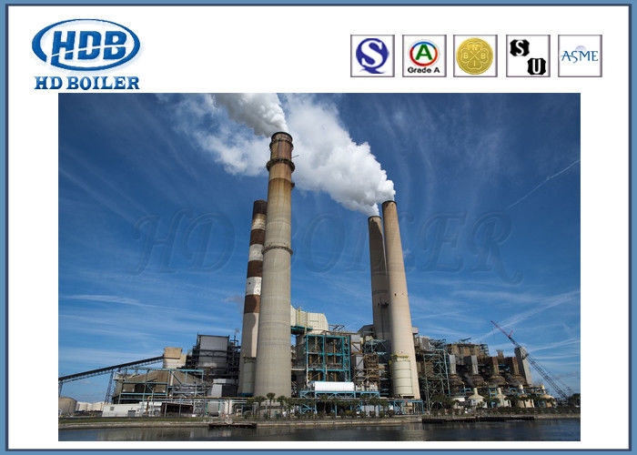 130T/H Circulating Fluidized Bed Coal Fired Power Plant Boiler With ...