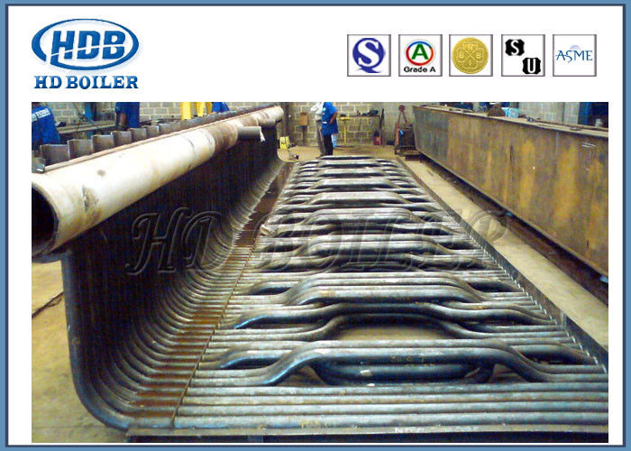 Water Wall Construction For Boiler , Water Wall Tubes In Boiler TUV ...