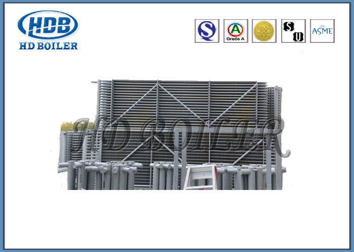 Coal Fuel Steel Gas Economizer For Boiler System , Economiser In ...