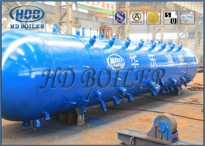 High Pressure Water Tube Boiler Steam Drum For 75 T / H Indonesia ...