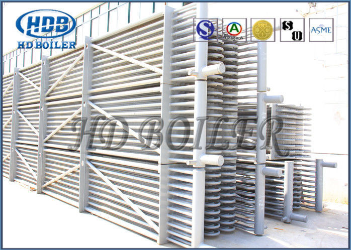 Stainless Steel Economizer Tubes CFB Boiler Economizer In Thermal ...