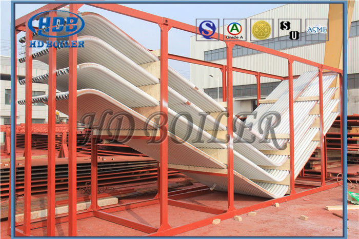 Nose Arch Rear Water Wall Panels For USA Utility Boiler Bending ...