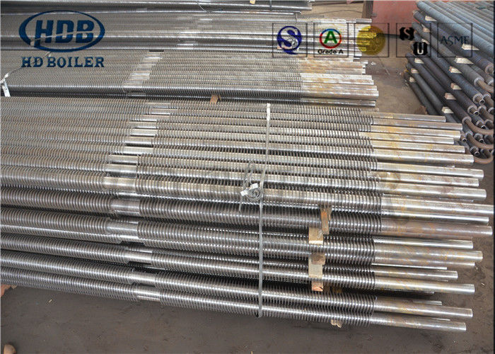 Stainless Steel Spiral Boiler Heat Exchanger , Boiler Repair Parts ...