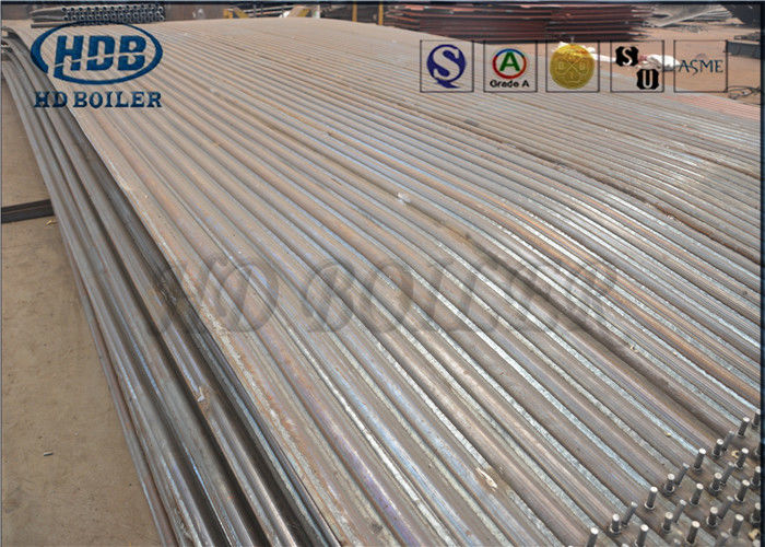 Coal Steam Boiler Spare Parts Seamless Steel Membrane Water Wall ...