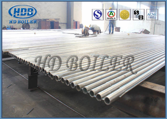 High Efficient Heat Exchanger Water Tube Boiler Parts Painted ...