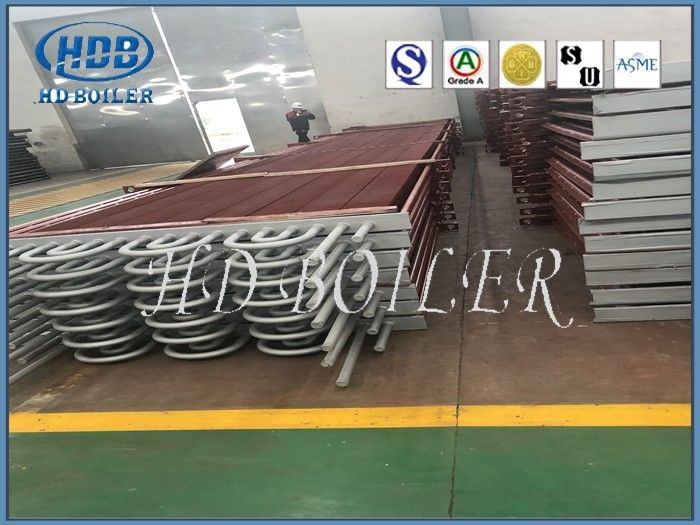 Carbon Steel Titanium Spiral Finned Tube Coil For Boiler Spares Economizer
