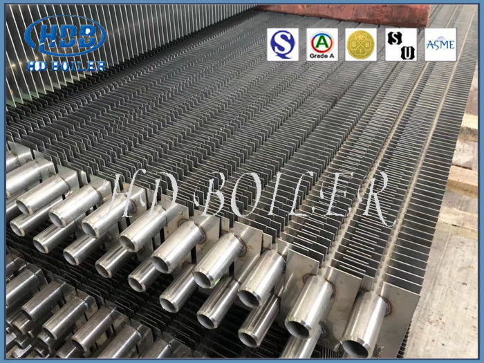 High Efficient Finned Heat Exchanger Tubes H Type High Temperature Resistance