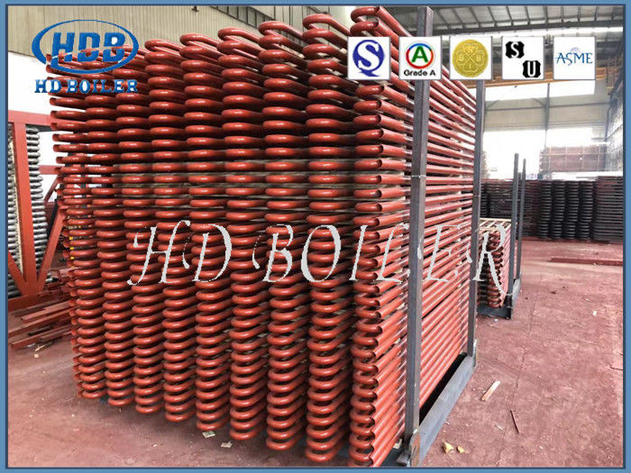 Alloy Steel Heat Exchange Superheater And Reheater HD Boiler High Efficiency