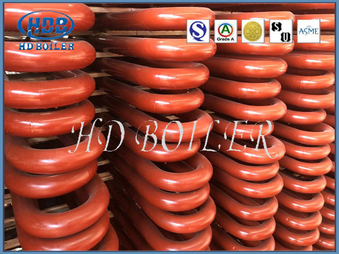 Steel Platen Superheater Boiler Spare Parts For Pulverized Boilers In Thermal Power Station
