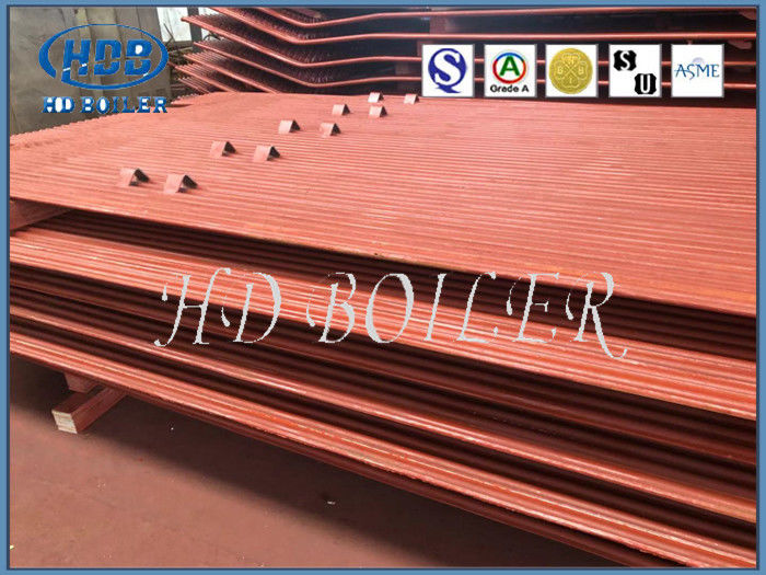 Alloy Steel Industrial Water Wall Panels For Recycling Water , Auto Submerged Welding