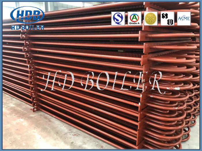 Horizontal Structure Finned Tube Economizer Easy Operation Great Efficiency