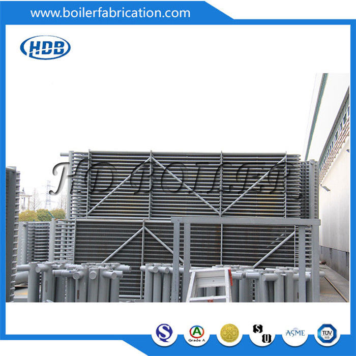 Horizontal Carbon Steel Pressure Vessel Economizer In Boiler For Power Station