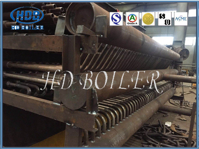 Water Tube Naturally Circulated Boiler Manifold Headers With High Pressure