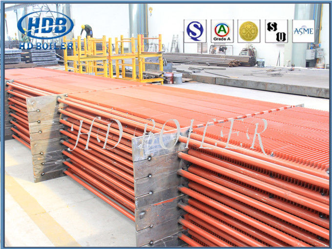 Carbon Steel Metal Color High Efficient Boiler Fin Tube For Power Station