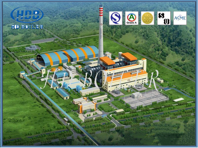Vertical Naturally Circulating Fluidized Bed Boiler For Power Station Or Industry